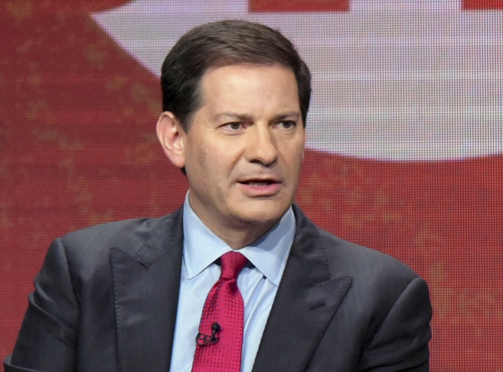 "FILE - In this Aug. 11, 2016, file photo, author and producer Mark Halperin appears at the Showtime Critics Association summer media tour in Beverly Hills, Calif. A reported book deal for Halperin, the ""Game Change"" co-author and political commentator who has faced multiple allegations of sexual harassment, is being greeted with widespread outrage. Politico announced Sunday, Aug. 18, 2019, that Halperin's ""How To Beat Trump"" was expected in November. (Photo by Richard Shotwell/Invision/AP, File)"
