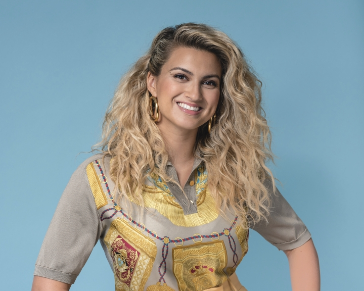 """This Aug. 13, 2019 photo shows singer Tori Kelly during a portrait session in New York to promote her latest project, """"Inspired by True Events,"""" released this month. (Photo by Christopher Smith/Invision/AP)"""