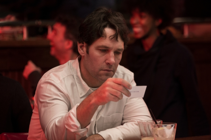 "This image released by Netflix shows Paul Rudd in a scene from ""Living With Yourself,"" premiering on Oct. 18. (Eric Liebowitz/Netflix via AP)"
