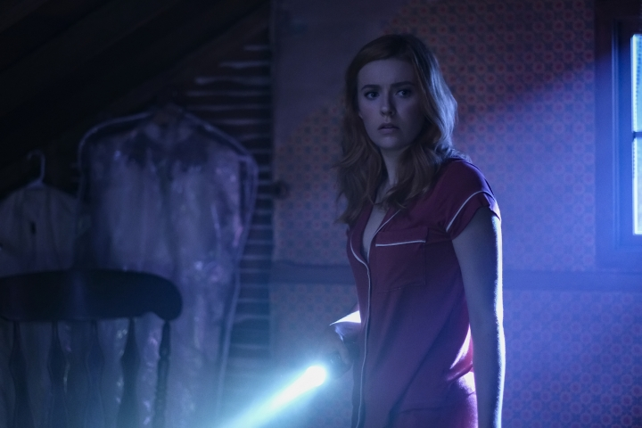 "This image released by The CW shows Kennedy McMann in a scene from ""Nancy Drew,"" premiering on Oct. 9. (Robert Falconer/The CW via AP)"