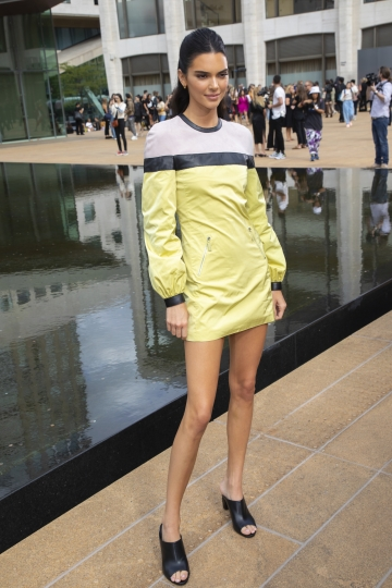 Model Kendall Jenner attends the Longchamp runway show at Lincoln Center during NYFW Spring/Summer 2020 on Saturday, Sept. 7, 2019, in New York. (Photo by Brent N. Clarke/Invision/AP