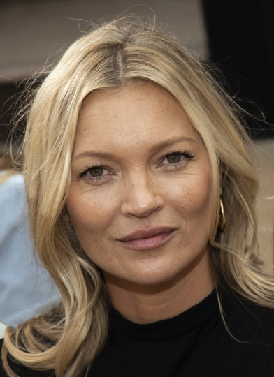 Model Kate Moss attends the Longchamp runway show at Lincoln Center during NYFW Spring/Summer 2020 on Saturday, Sept. 7, 2019, in New York. (Photo by Brent N. Clarke/Invision/AP