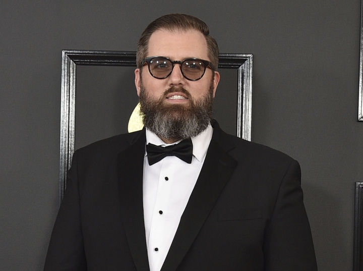 FILE - This Feb. 12, 2017 file photo shows songwriter and producer busbee at the 59th annual Grammy Awards in Los Angeles. Warner Records sent out a statement on Sunday saying busbee, whose real name was Michael James Ryan, died, but no cause of death or date was given. He was 43. (Photo by Jordan Strauss/Invision/AP, File)