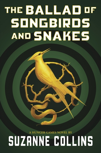 "This cover image released by Scholastic shows ""The Ballad of Songbirds and Snakes,"" a Hunger Games novel by Suzanne Collins, to be published on May 19. (Scholastic via AP)"