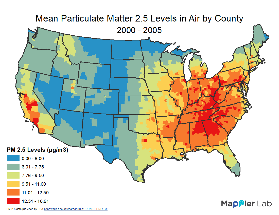 Pm25 Map