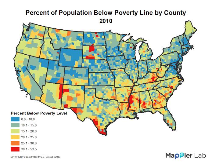 poverty map mappler