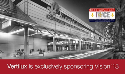 Vertilux to Sponsor First Ever Internet Café and Lounge at IWCE'13