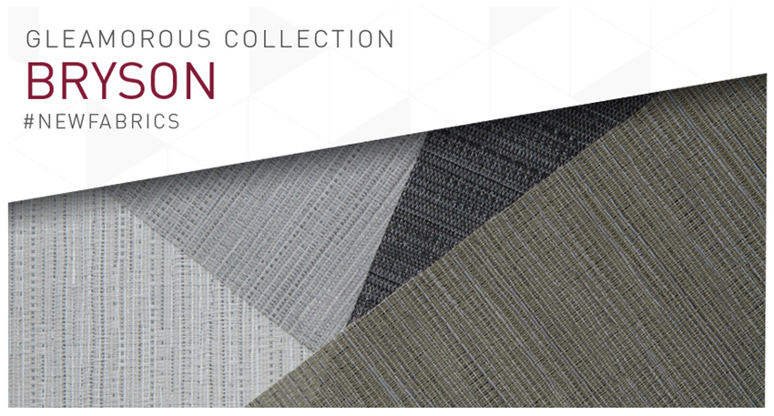 It's all about grey with the new VX Screen Bryson fabric!