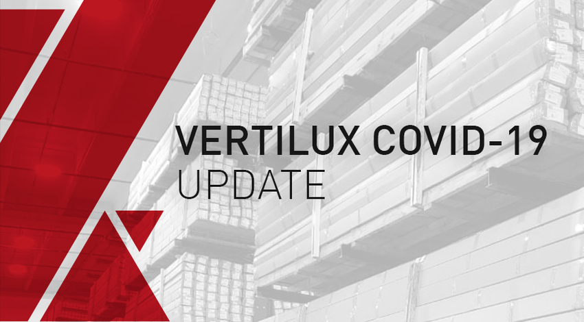 Vertilux Supply Chain COVID-19 Update