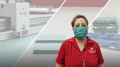 Vertilux takes action, producing face masks for our frontline heroes!