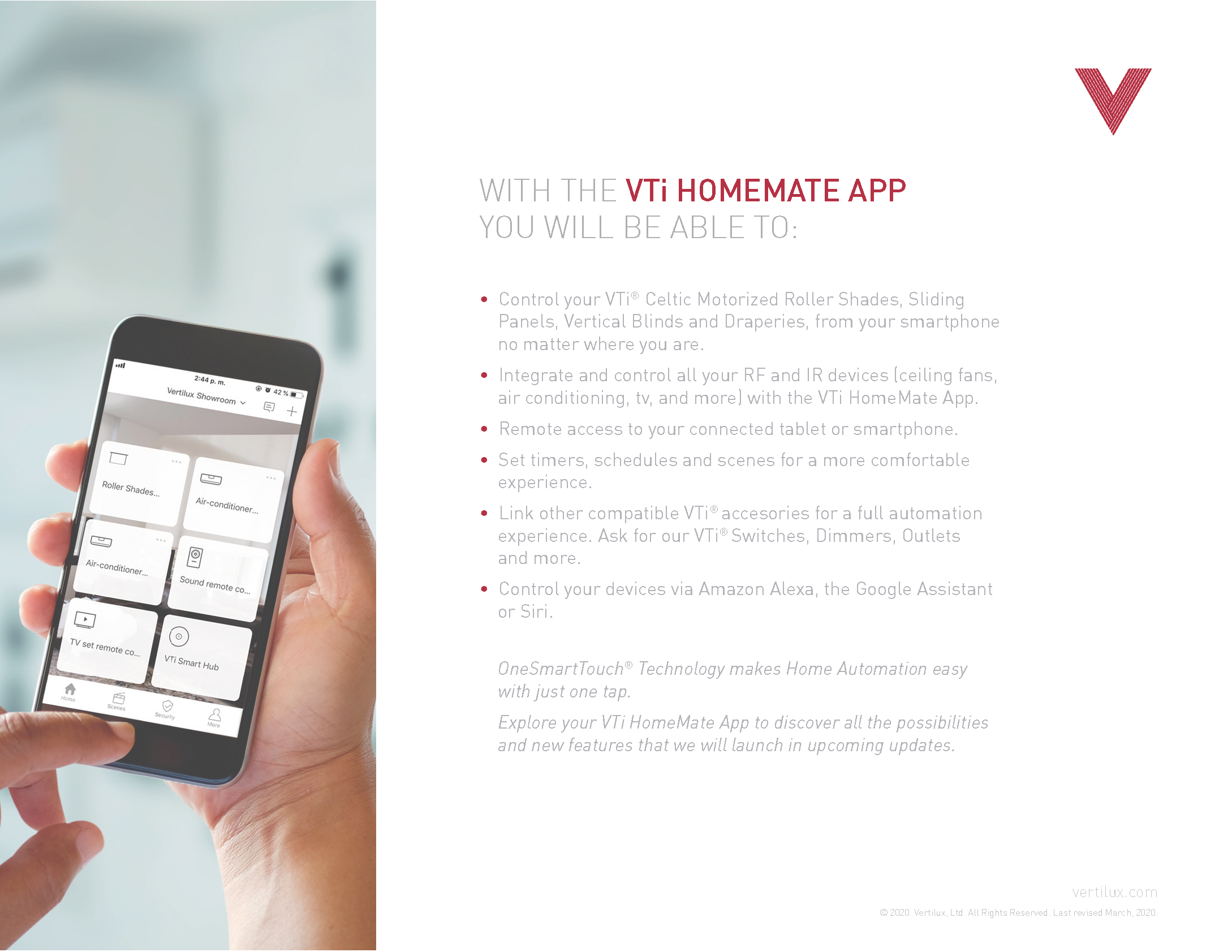 VTi HomeMate User Guide - Page 3