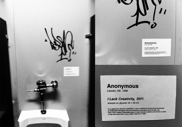 Graffitti%20snobbery%20-%20making%20fun%20of%20a%20lack%20of%20washroom%20graffiti's%20lack%20of%20creativity