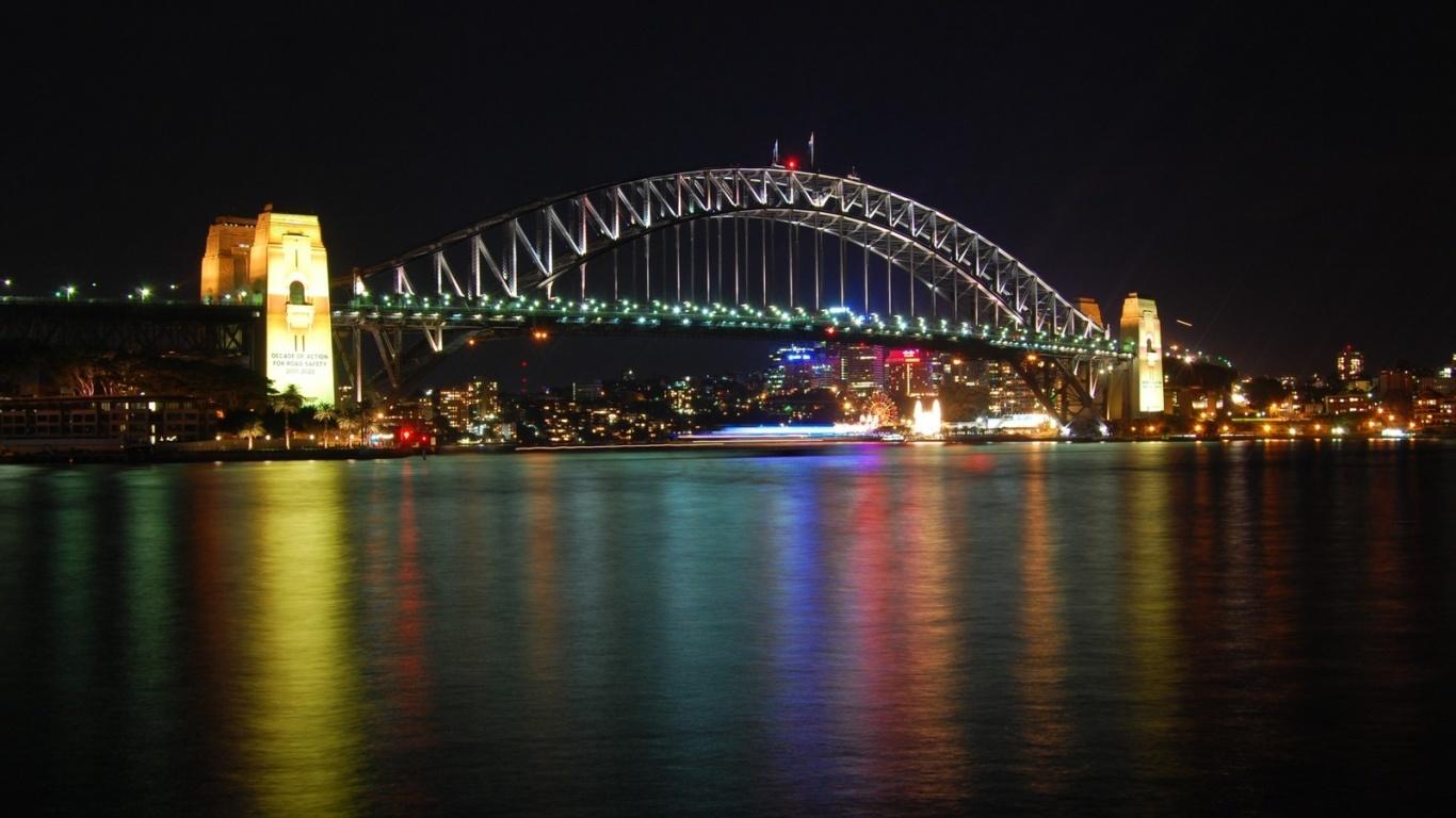 Sydney_harbour_bridge-1366x768