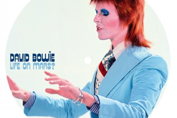 "David Bowie's ""Life On Mars"" to get 40th anniversary picture-disc reissue"