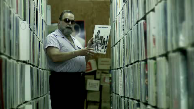 Million album man: Watch short film about the world's biggest record collection