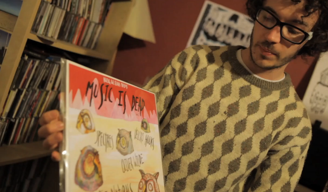 "Watch mini-doc ""White Label"" on the vinyl scenes in Brighton and Bristol"