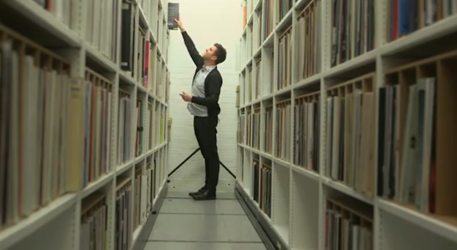 Take a look inside the British Library's underground vinyl vault