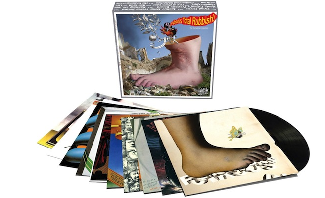 The complete music of Monty Python to be collected in 9LP box set