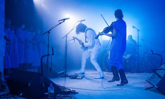Jack White collaborates with Punchdrunk to play secret gig at The Vinyl Factory's 180 the Strand