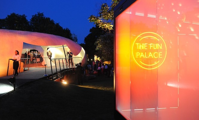 The Vinyl Factory's new touring 'laboratory of sound' premiers at Serpentine Summer party