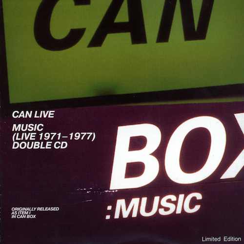 Can-Music (Live1971-1977)