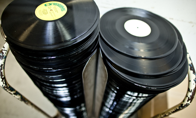 How to press a record: 30 photos from inside The Vinyl Factory