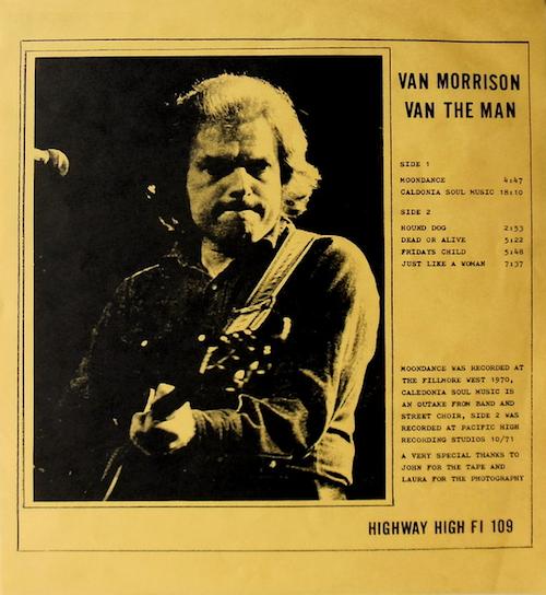 van morrison_van the man2