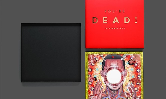 Flying Lotus has hidden free test pressings of <em>You&#8217;re Dead</em> in UK record shops; check out images of the limited edition