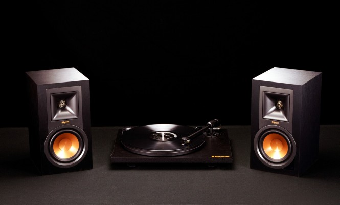 Klipsch launches plug-and-play vinyl listening setup