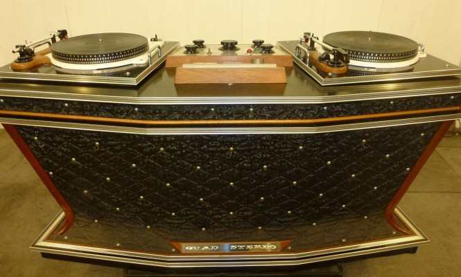 1960s record player console and rotary mixer goes on sale