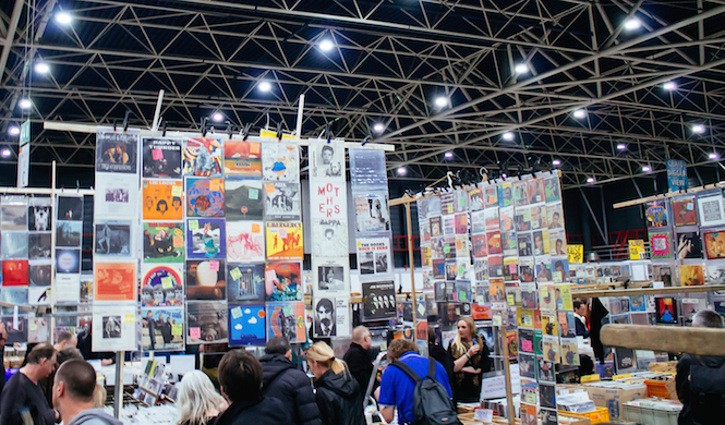 The world's biggest record fair returns this weekend