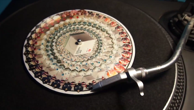 Sculpture release mind-bending new animated picture disc