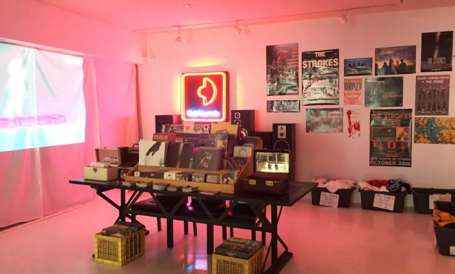 The Strokes launch pop-up record store in NYC