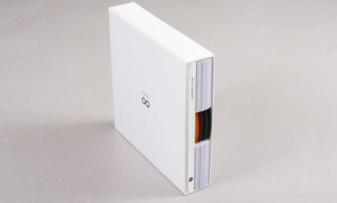 Carsten Nicolai hand-signs stunning 12&#215;10&#8243; <em>bausatz noto</em> box set