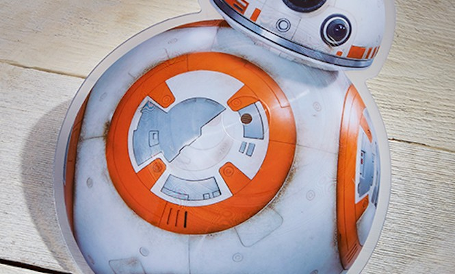 <em> Star Wars </em> fans, check out this BB-8 picture disc
