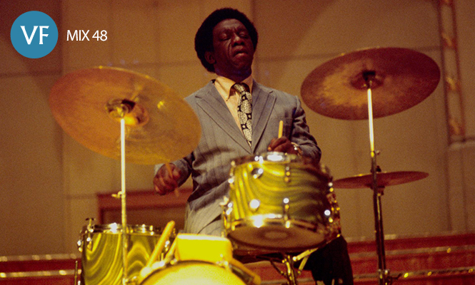 Virtuoso jazz drummers mingle in our latest vinyl-only mix