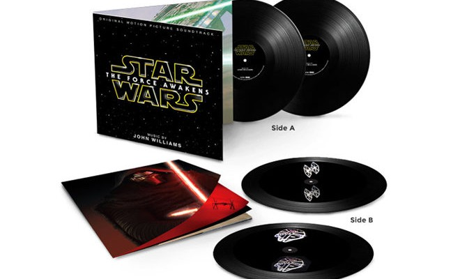The new <em>Star Wars</em> soundtrack comes to vinyl with holograms