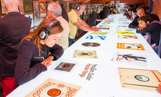 Jewish Museum charts the art of vinyl in interactive exhibition