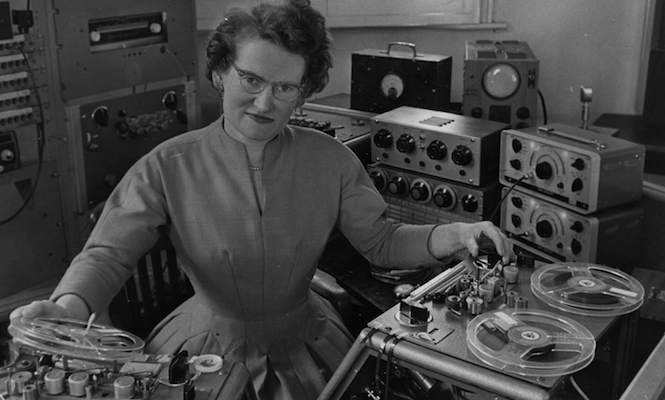 The music of Daphne Oram to be performed on turntables
