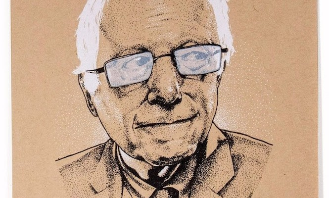 bernie-sanders-thurston-moore-feel-it-in-your-guts-vinyl