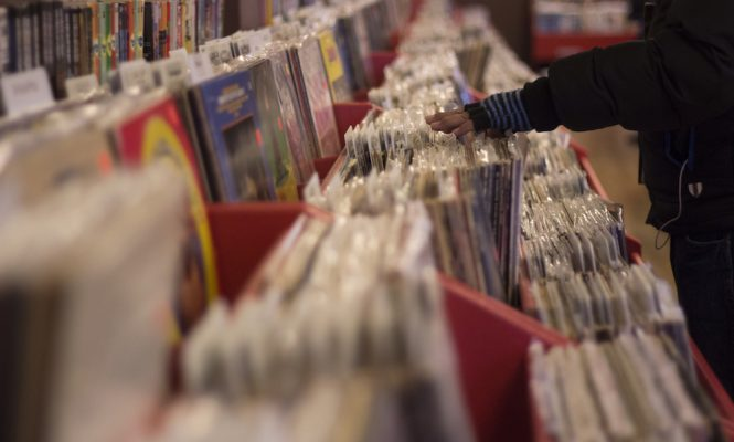 Album sales fall in every format except vinyl