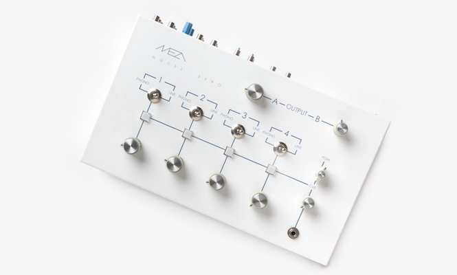 This minimalist rotary mixer is designed for discerning DJs and record collectors