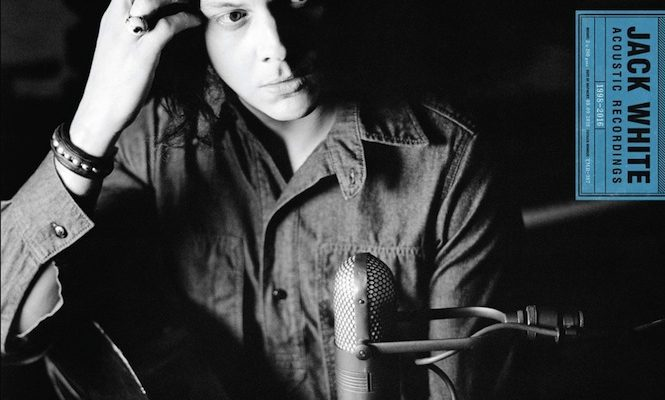 Jack White to release acoustic recordings on double vinyl