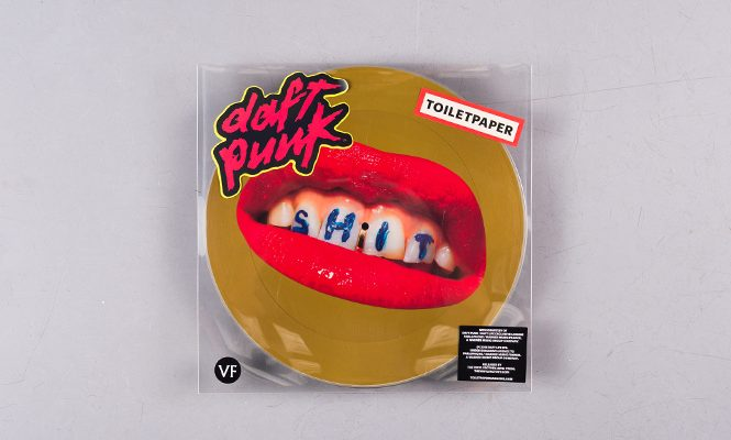 TOILETPAPER to release Daft Punk's classic 'Da Funk' on picture disc 12″