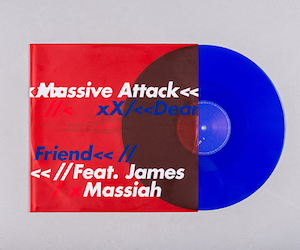 Massive Attack release 'Dear Friend' on limited blue vinyl 12″