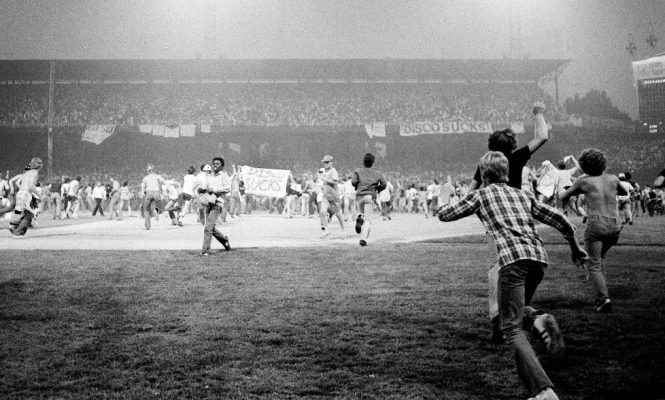 Relive the infamous Disco Demolition Night with this new documentary
