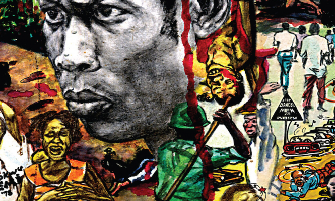 Meet the designer behind Fela Kuti's riotous record sleeves