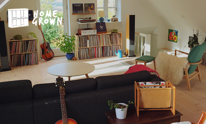 Home Grown: A vintage gear and vinyl sanctuary in Denmark
