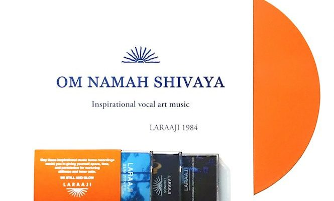 Laraaji reissues </em>Om Namah Shivaya</em> on orange vinyl