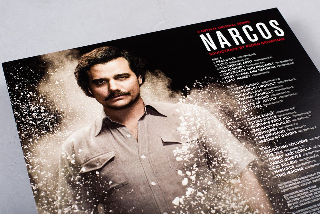 Examine The Narcos Ost On Intoxicating Coloured Vinyl